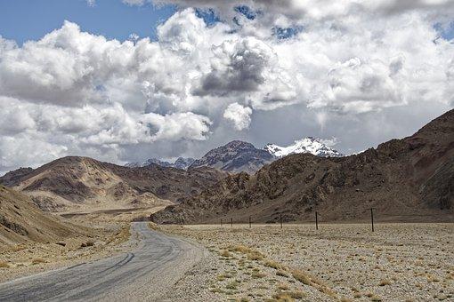 Tajikistan, Mountain-badakhshan, The Pamir Highway