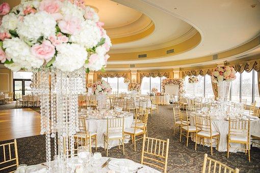 Wedding Hall, Restaurant, The Scenery, Decoration