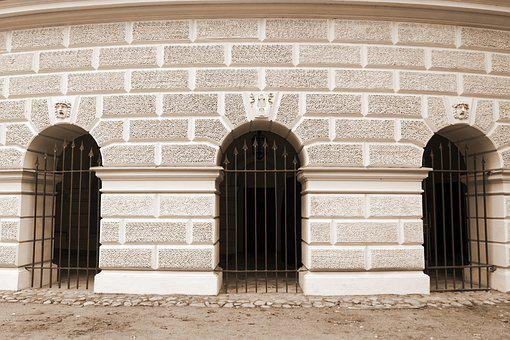 Wall, The Circular, Building, Historical