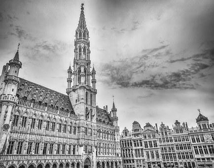 Brussels, Brussels Town Hall, Grote Markt