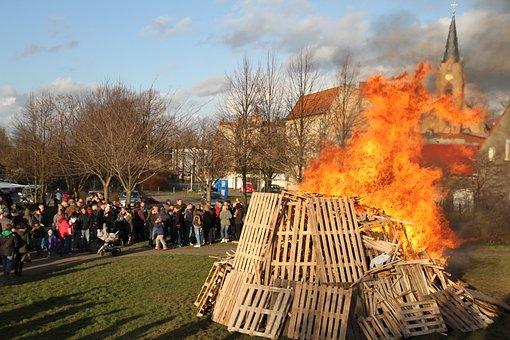 Easter Fire, Easter, Fire, Flame, Campfire, Midsummer