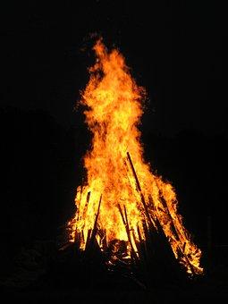 Fire, Flame, Wood Fire, Easter Fire, Campfire