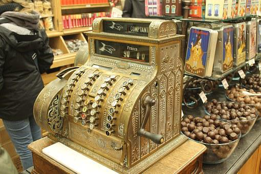Belgium, Brussels, Cash Register, Tourism