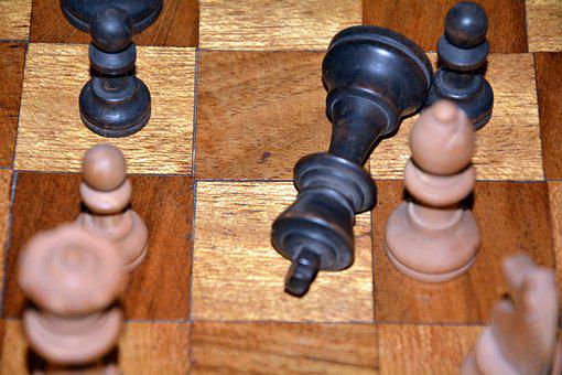 Chess, Defeated, Challenge, Chess Pieces