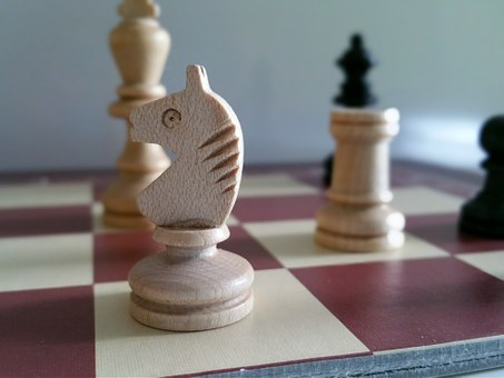 Chess, Wooden Figures, Game Characters