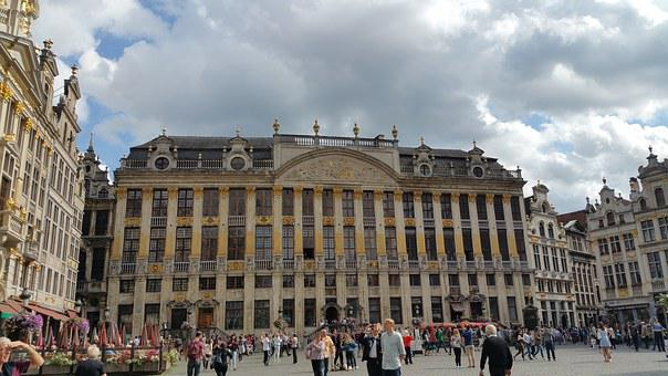 Brussels, City Centre, Grand Place, Architecture