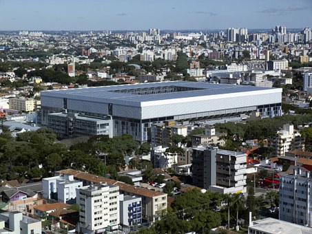 Arena De Baixada, Curitiba, Kyocera Arena, Brazil