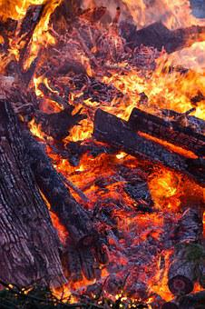Easter-expensive, Fire, Embers, Campfire, Yellow, Heat