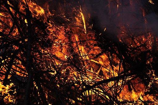 Easter Fire, Flame, Embers, Fire, Customs, Blaze