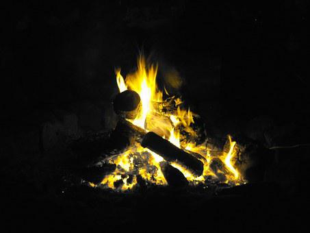 Easter Fire, Fire, May Fire, Easter, Flame, Campfire