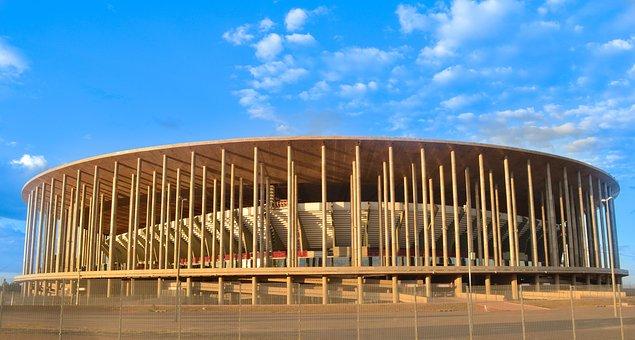 National Stadium, Football, Brasilia, Architecture