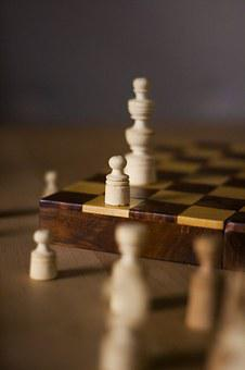 Chess, Chess Board, Board Game, Game, Strategy, Figures