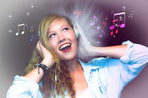 Singer, Karaoke, Girl, Woman, Sing, Singing, Music