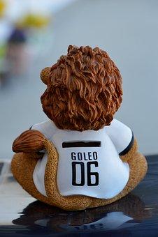 Goleo, Football, 2006, Lion