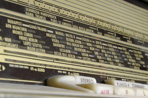 Radio, Tube Radio, Historically, Speakers, Transmission
