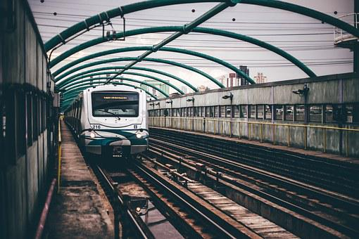Train, Transportation, Platform, Railroad, Metro