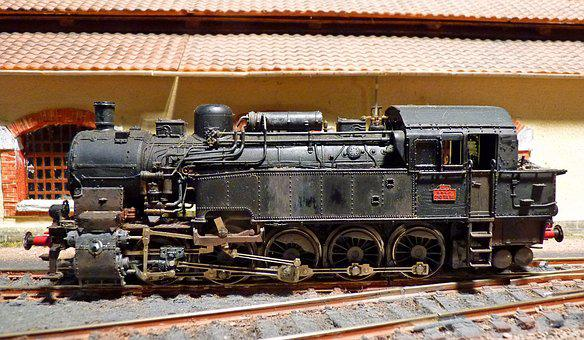 Locomotive, Miniature, Model Railroad, Train, Model
