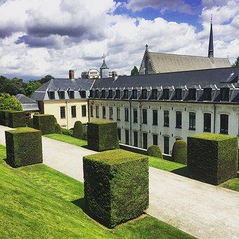Belgium, Abbey, Europe, Monastery, Church, Culture, Old