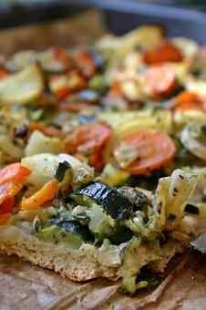 Vegetable Pizza, Pizza, Eat, Food, Pizza Topping