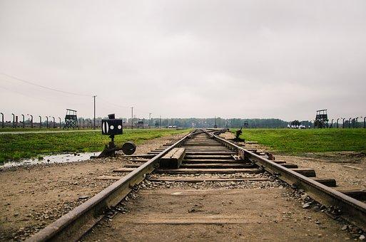 Auschwitz, Birkenau, Rail, Train, Holocaust, Poland