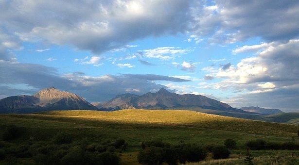 Mountains, Sky, Colorado, San Juan Mountains