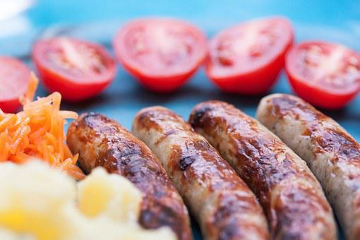 Bratwurst, Sausage, Grill Sausages, Grill Sausage, Meat