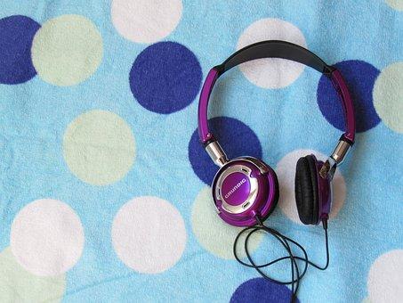 Headphones, Music, Entertainment, Sound, Technology