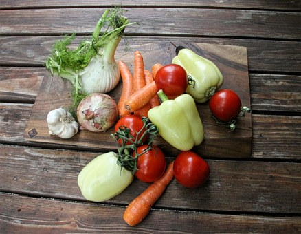 Vegetables, Organic, Food, Fresh, Garlic, Carrots