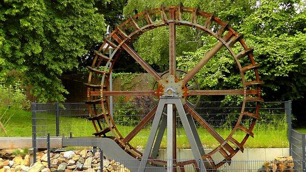 Waterwheel, Mill, Mill Wheel, Water, Turn, Wheel