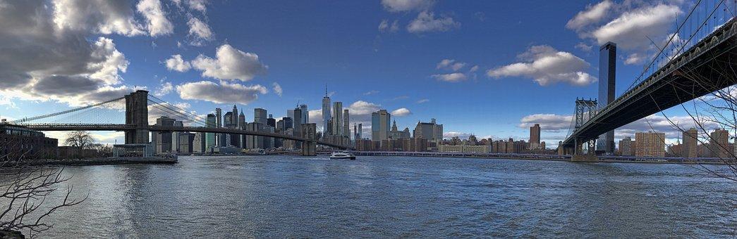 New York City, Manhattan, Hudson River, Architecture