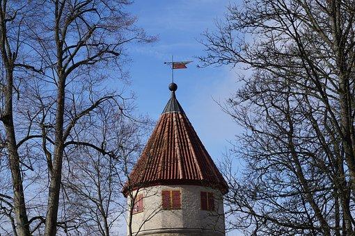Castle, Roof, Architecture, Building, Tower, Tuttlingen