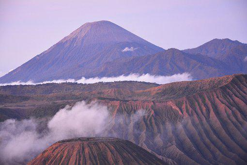 Java, Indonesia, Nature, Volcano, Bromo