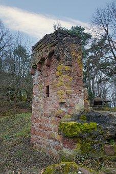 Burgruine, Ruin, Castle