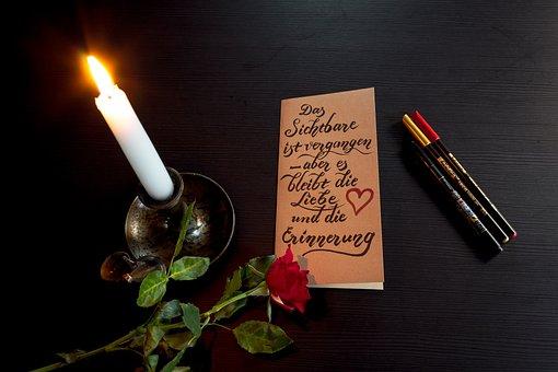 Condolences, Death, Condolence Card, Die, Mourning