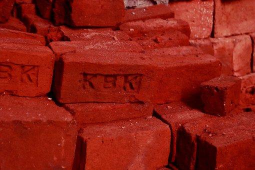 Brick, Construction, Wall, Texture, Concrete