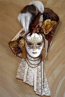 Mask, Venice, Facemask, Panel, Carnival, Italy, Venezia