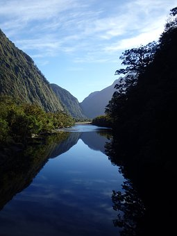 New Zealand, Fiordland, Landscape, Nature, Sound