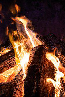 Campfire, Fire, Bonfire, Hot, Burning, Flames, Glow