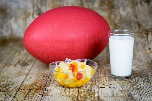 Breakfast, Milk, Fruit, Balloon