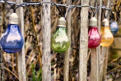 Lichterkette, Gartendeko, Light, Decoration, Lamp, Deco