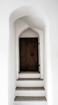Door, Goal, Input, Gate, Architecture, Old, Portal