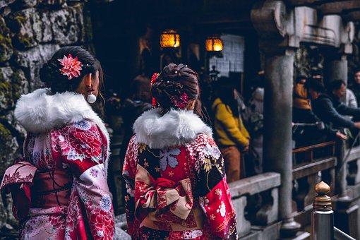 Kimono, Girls, Japan, Japanese, Travel, Model, Fashion