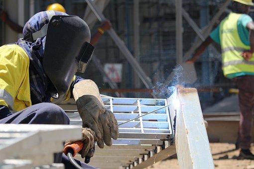 Welding, Metal, Industry, Worker, Construction, Job