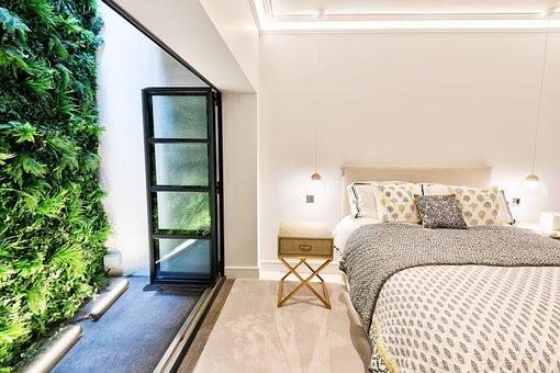 Apartment, Luxury, Interior, Room, Bedroom, Bed