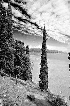 Sirmione, Garda, Italy, View, Landscape, Nature, Lake