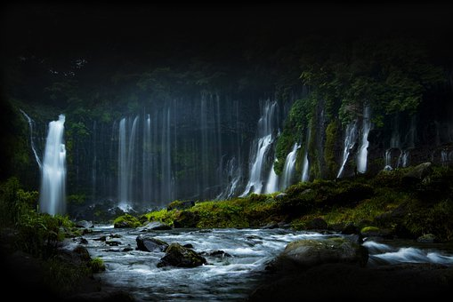 Waterfalls, Water, Rivers, Life-saving Water, Nature