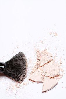 Brush, Makeup, Powder, Cosmetics, Apply, Skincare