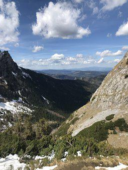 Tatry, Moutains, Mountains, Snow