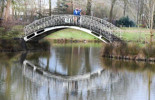 Bridge, Water, Reflect On Whether, Nature, Beautiful