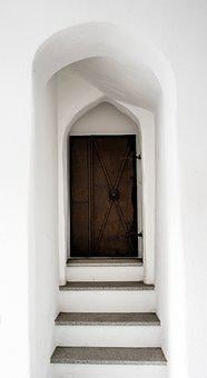 Door, Goal, Input, Gate, Architecture, Old, Portal